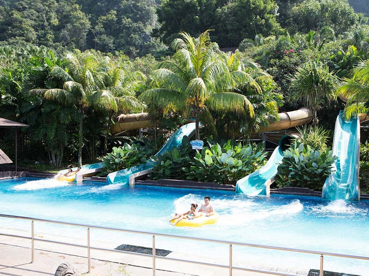 lodt world of tambun Which is the home of our very own water theme park (sunway lost world of  tambun) the apartment is situated among the scenic natural hills of tambun,.